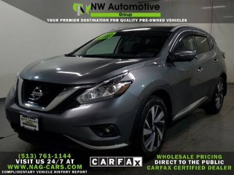 2015 Nissan Murano for sale at NW Automotive Group in Cincinnati OH