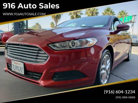 2014 Ford Fusion for sale at 916 Auto Sales in Sacramento CA