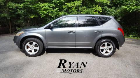 2005 Nissan Murano for sale at Ryan Motors LLC in Warsaw IN