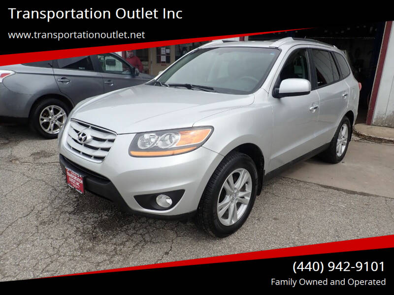 2011 Hyundai Santa Fe for sale at Transportation Outlet Inc in Eastlake OH