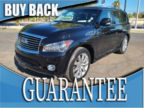 2012 Infiniti QX56 for sale at Reliable Auto Sales in Las Vegas NV