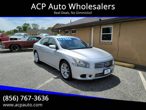 2013 Nissan Maxima for sale at ACP Auto Wholesalers in Berlin NJ