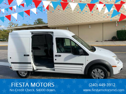 2013 Ford Transit Connect for sale at FIESTA MOTORS in Hagerstown MD