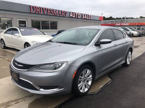 2015 Chrysler 200 for sale at DriveSmart Auto Sales in West Chester OH