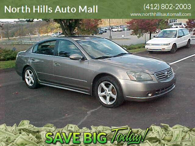 2005 Nissan Altima for sale at North Hills Auto Mall in Pittsburgh PA