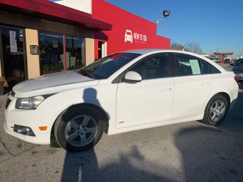 2011 Chevrolet Cruze for sale at New To You Motors in Tulsa OK