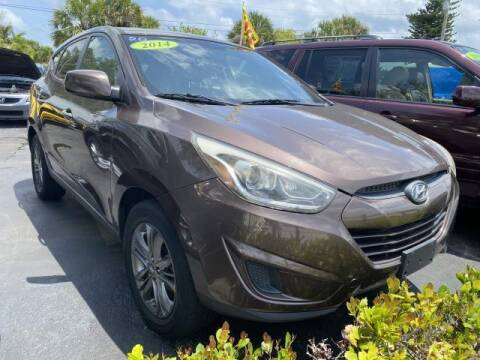 2014 Hyundai Tucson for sale at Mike Auto Sales in West Palm Beach FL
