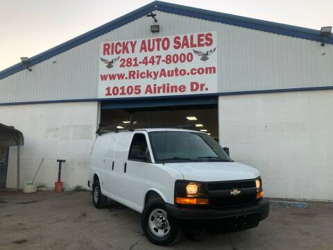 2014 Chevrolet Express Cargo for sale at Ricky Auto Sales in Houston TX