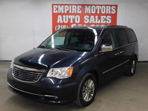2013 Chrysler Town and Country for sale at EMPIRE MOTORS AUTO SALES in Philadelphia PA