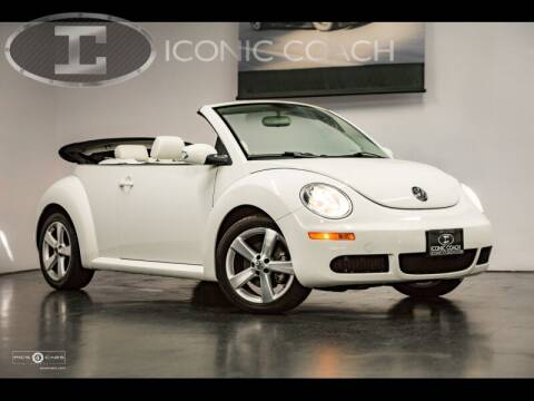 2007 Volkswagen New Beetle Convertible for sale at Iconic Coach in San Diego CA