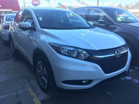 2016 Honda HR-V for sale at MELILLO MOTORS INC in North Haven CT