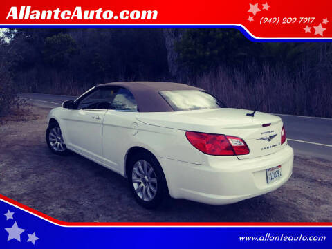 2010 Chrysler Sebring for sale at AllanteAuto.com in Santa Ana CA