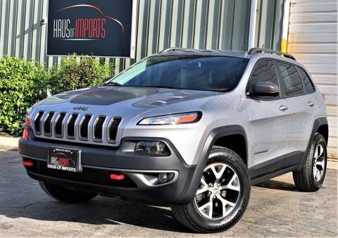 2014 Jeep Cherokee for sale at Haus of Imports in Lemont IL