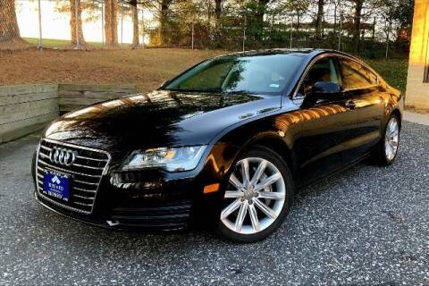 2012 Audi A7 for sale at TRUST AUTO in Sykesville MD