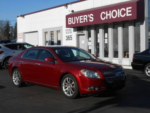 2010 Chevrolet Malibu for sale at Buyers Choice Auto Sales in Bedford OH
