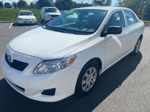 2009 Toyota Corolla for sale at SOUTH AMERICA MOTORS in Sterling VA