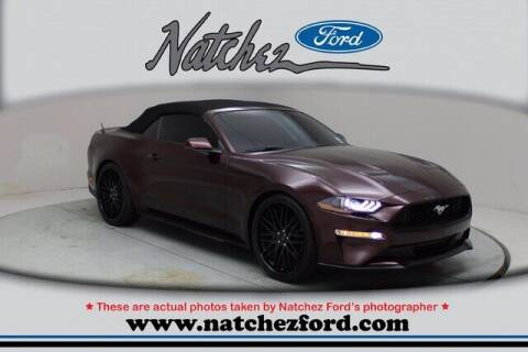 2018 Ford Mustang for sale at Auto Group South - Natchez Ford Lincoln in Natchez MS