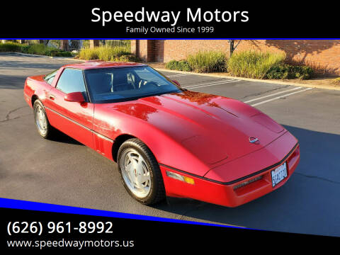 1989 Chevrolet Corvette for sale at Speedway Motors in Glendora CA