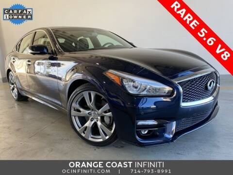 2017 Infiniti Q70 for sale at ORANGE COAST CARS in Westminster CA