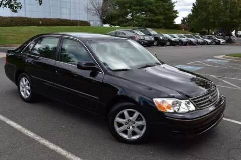2003 Toyota Avalon for sale at SEIZED LUXURY VEHICLES LLC in Sterling VA