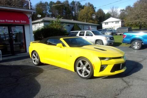 2017 Chevrolet Camaro for sale at Dave Franek Automotive in Wantage NJ