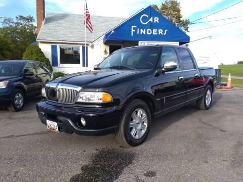2002 Lincoln Blackwood for sale at CAR FINDERS OF MARYLAND LLC in Eldersburg MD