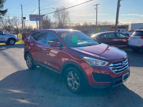 2016 Hyundai Santa Fe Sport for sale at JERRY SIMON AUTO SALES in Cambridge NY
