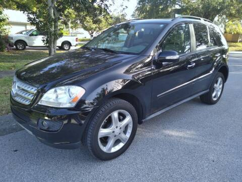 2008 Mercedes-Benz M-Class for sale at Low Price Auto Sales LLC in Palm Harbor FL