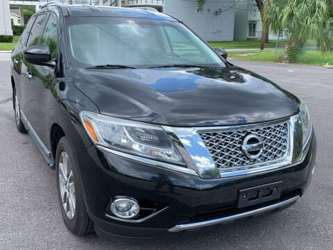 2015 Nissan Pathfinder for sale at Consumer Auto Credit in Tampa FL