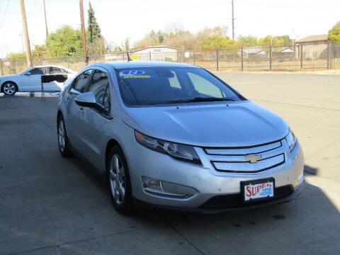 2014 Chevrolet Volt for sale at SUPER AUTO SALES STOCKTON in Stockton CA