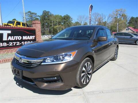 2017 Honda Accord Hybrid for sale at J T Auto Group in Sanford NC