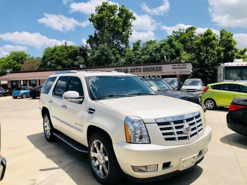 2008 Cadillac Escalade for sale at Texas Auto Broker in Killeen TX