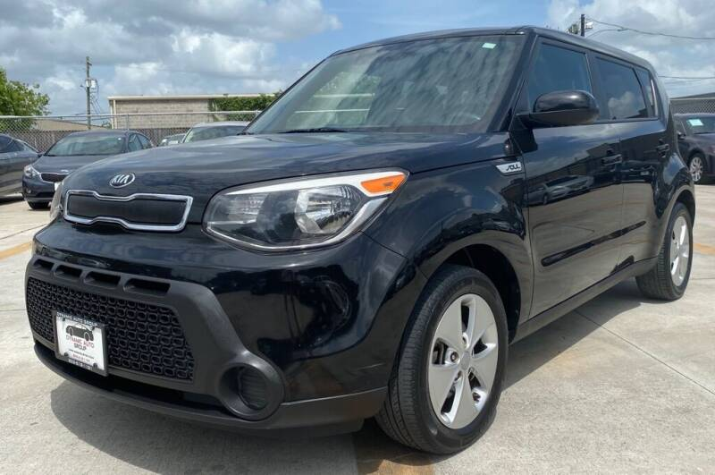2016 Kia Soul for sale at DYNAMIC AUTO GROUP in Houston TX