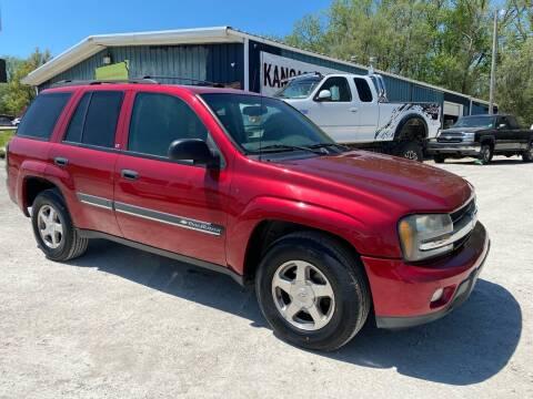 2002 Chevrolet TrailBlazer for sale at Kansas Car Finder in Valley Falls KS