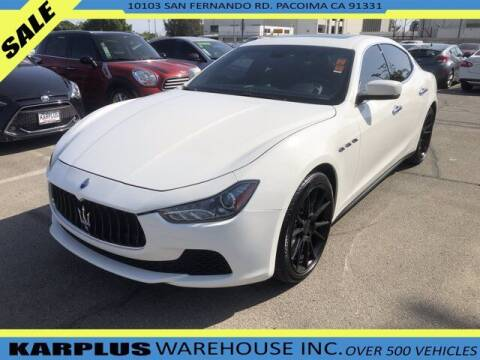 2014 Maserati Ghibli for sale at Karplus Warehouse in Pacoima CA