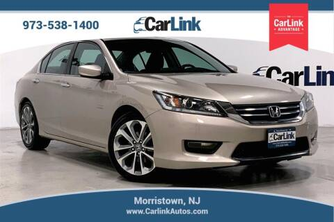 2013 Honda Accord for sale at CarLink in Morristown NJ