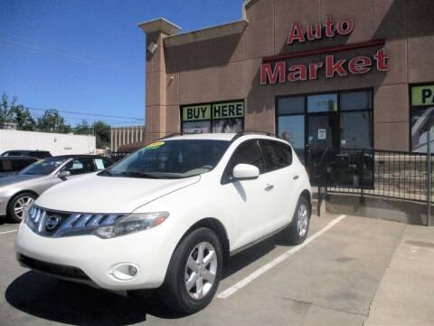 2009 Nissan Murano for sale at Auto Market in Oklahoma City OK
