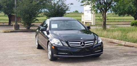 2012 Mercedes-Benz E-Class for sale at America's Auto Financial in Houston TX
