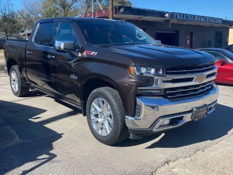 2019 Chevrolet Silverado 1500 for sale at Texas Luxury Auto in Houston TX
