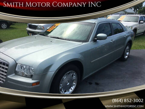 2006 Chrysler 300 for sale at Smith Motor Company INC in Mc Cormick SC