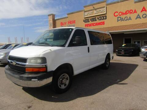 2010 Chevrolet Express Passenger for sale at Import Motors in Bethany OK