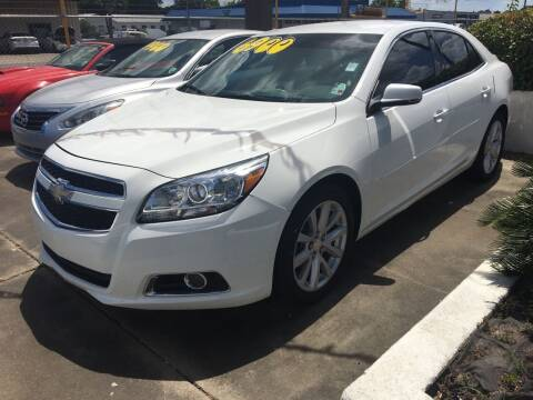 2013 Chevrolet Malibu for sale at Bobby Lafleur Auto Sales in Lake Charles LA