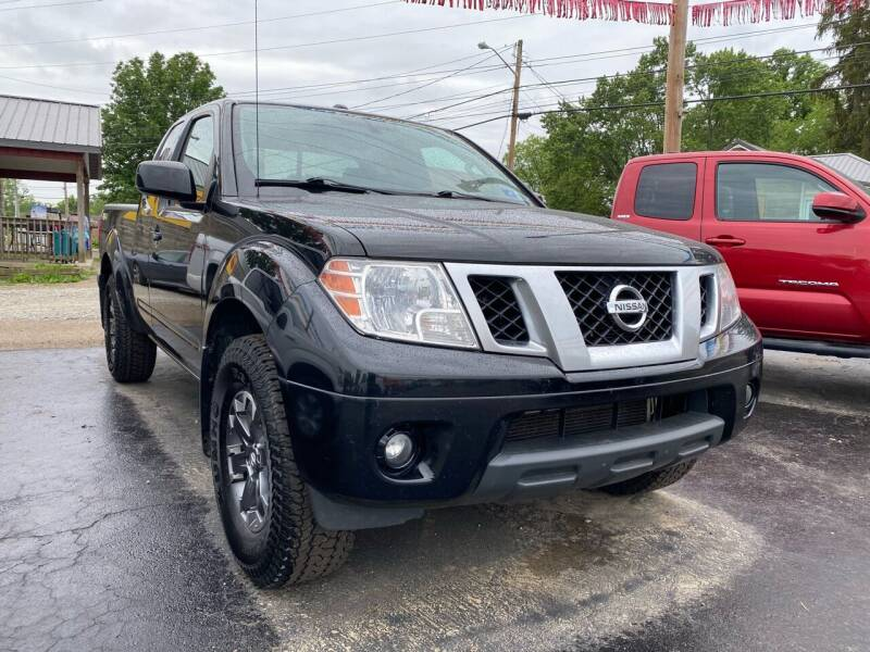 2015 Nissan Frontier for sale at Auto Exchange in The Plains OH
