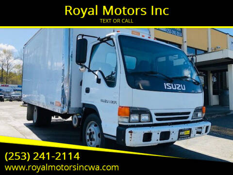 2001 Isuzu NQR for sale at Royal Motors Inc in Kent WA