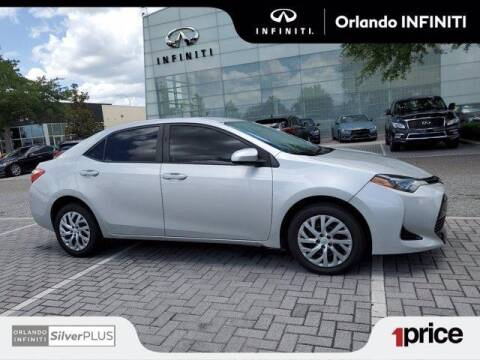 2018 Toyota Corolla for sale at Orlando Infiniti in Orlando FL