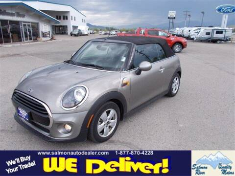 2019 MINI Convertible for sale at QUALITY MOTORS in Salmon ID