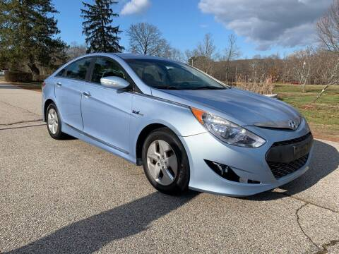 2012 Hyundai Sonata Hybrid for sale at 100% Auto Wholesalers in Attleboro MA