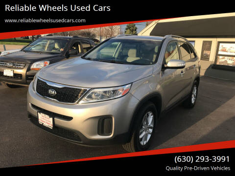 2015 Kia Sorento for sale at Reliable Wheels Used Cars in West Chicago IL