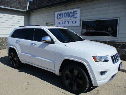 2015 Jeep Grand Cherokee for sale at Choice Auto in Carroll IA