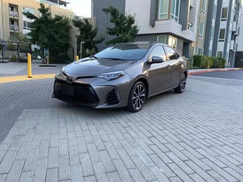 2017 Toyota Corolla for sale at Ronnie Motors LLC in San Jose CA